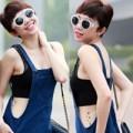 Thời trang - Tóc Tiên mặc áo ren khoe hình xăm tại Hà Nội