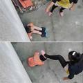 Làm mẹ - TQ: Phẫn nộ với loạt ảnh mẹ đánh con túi bụi