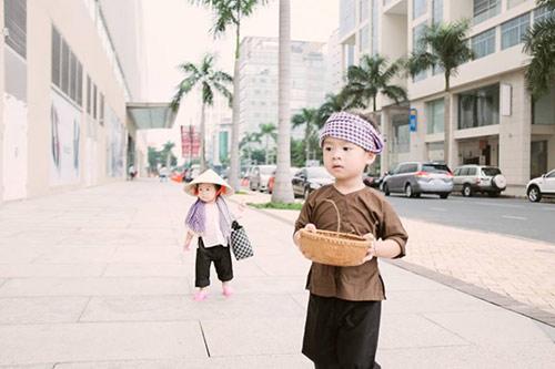 """con ly hai hoa """"nong dan len tinh"""" sieu de thuong - 4"""