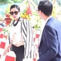 Làng sao - Hà Tăng xuất hiện đẳng cấp bên ông xã Louis