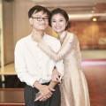 """Làng sao - Diễn viên Diệu Hương """"nựng yêu"""" chồng tại sự kiện"""