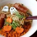 """Bếp Eva - Để bát mì ramen """"rùng rợn"""" hơn cho lễ Halloween"""
