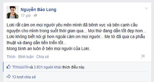 loki bao long lan dau lo dien sau scandal bo thi x-factor - 2
