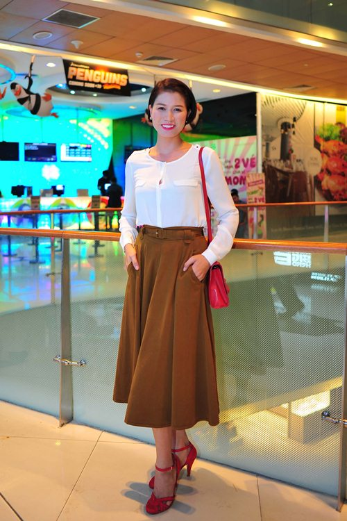 lan phuong tao bao, tu tin khoe eo thon - 4