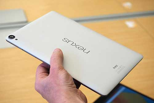 google khong dung nexus 9 de doi dau voi ipad air cua apple - 1