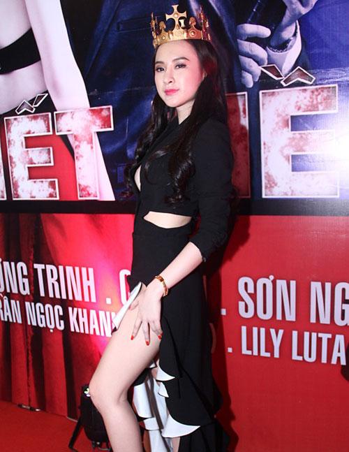 angela phuong trinh mac vay xe 'hiem hoc' - 1