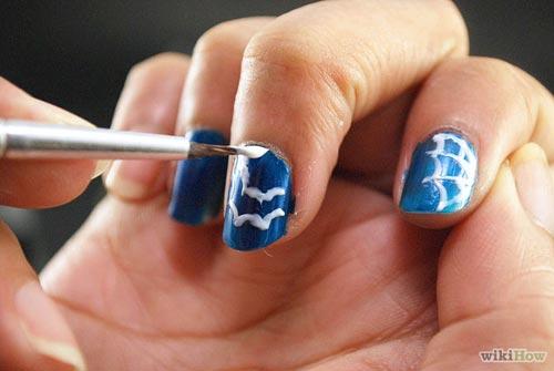 Hướng dẫn vẽ nail Halloween kỳ bí, ấn tượng