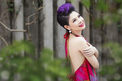 thanh thao khoe tron lung tran nuot na - 2