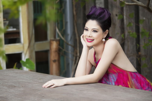 thanh thao khoe tron lung tran nuot na - 4