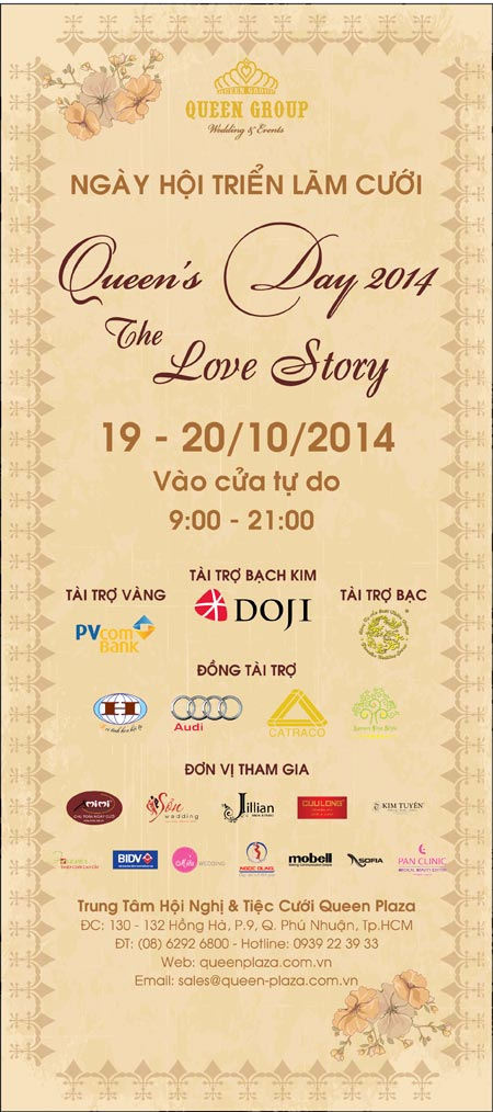"""""""queen's day 2014 – the love story"""" – ngay hoi tiec cuoi lon nhat trong nam - 2"""