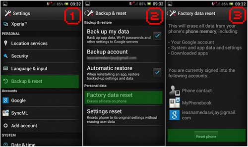 cach factory reset cho moi smartphone - 1