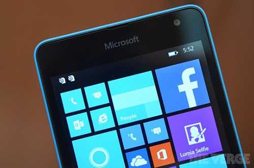 lumia 535, smartphone thuong hieu microsoft gia re dau tien - 1