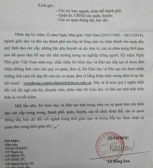 """xin khong nhan qua 20/11: lieu qua co di """"cua sau""""? - 3"""