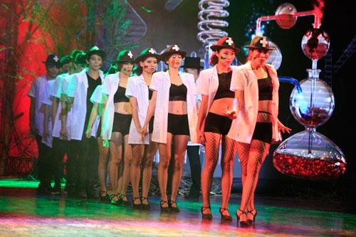 davines hair show 2014: loi cuon den giay phut cuoi cung - 3