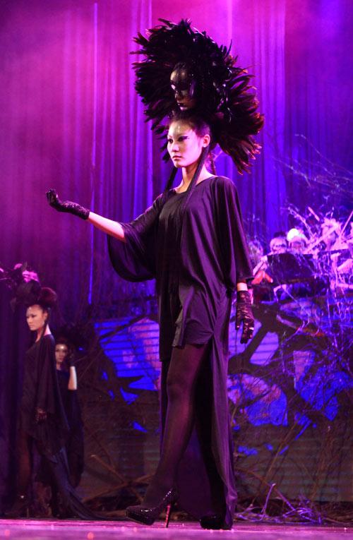 davines hair show 2014: loi cuon den giay phut cuoi cung - 16
