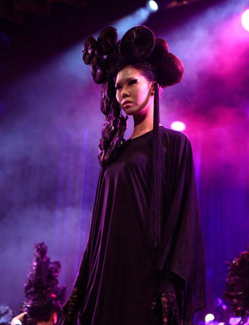davines hair show 2014: loi cuon den giay phut cuoi cung - 13