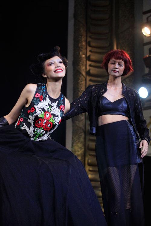 davines hair show 2014: loi cuon den giay phut cuoi cung - 20