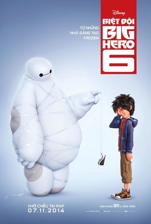 """big hero 6"" - phim hoat hinh thanh cong nhat viet nam 2014 - 1"