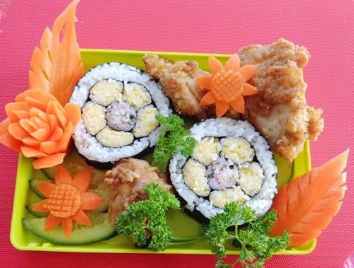 com cuon sushi vua ngon lai dep - 6