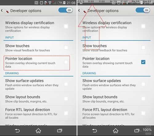Bốn bước đơn giản kiểm tra cảm ứng chạm cho điện thoại Android - 2