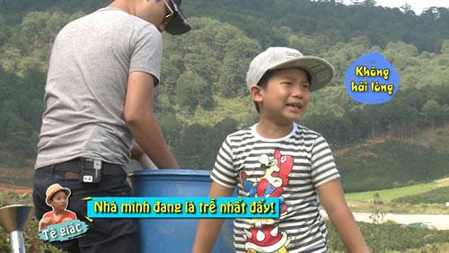 """""""Bố ơi..."""": Con Hoàng Bách lại khóc vì thua cuộc-9"""