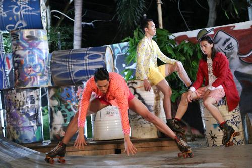 """VNTM2014 tập4: """"Chàng nông dân"""" trượt patin giành chiến thắng - 5"""