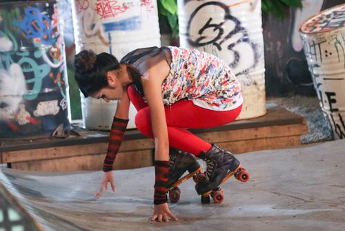 """VNTM2014 tập4: """"Chàng nông dân"""" trượt patin giành chiến thắng - 3"""