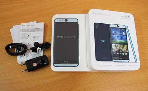 """Ảnh thực tế smartphone """"tự sướng"""" HTC Desire EYE tại Việt Nam-12"""