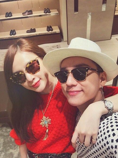 Angela Phương Trinh sang chảnh đi mua sắm hàng hiệu-9