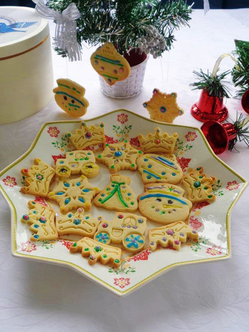Bánh quy dễ thương cho lễ Giáng sinh - 10