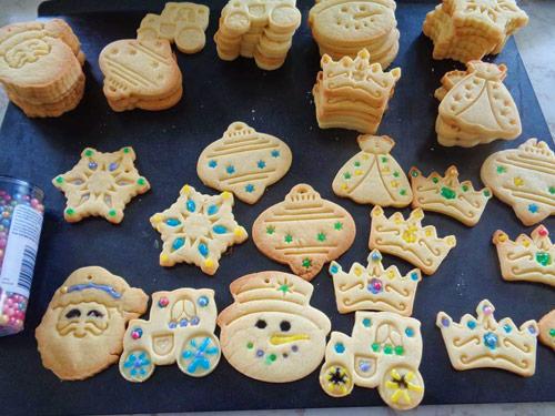 Bánh quy dễ thương cho lễ Giáng sinh - 7