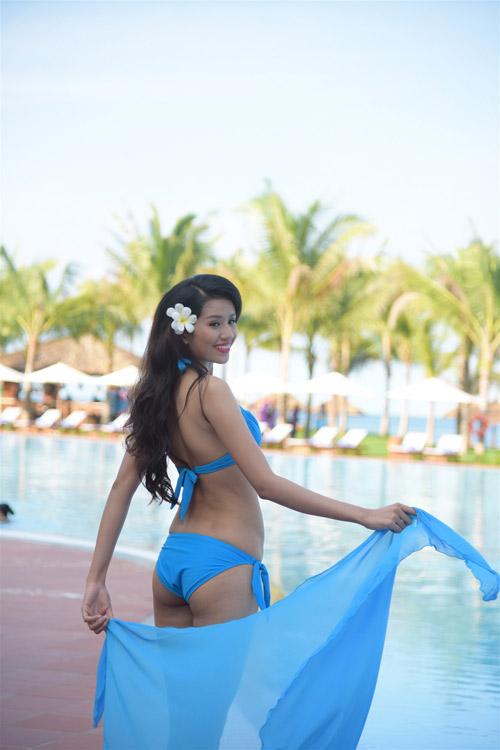 Bikini mát mắt của thí sinh hoa hậu Việt Nam-16