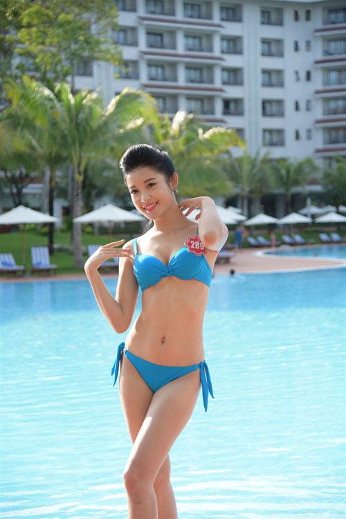 Bikini mát mắt của thí sinh hoa hậu Việt Nam-13