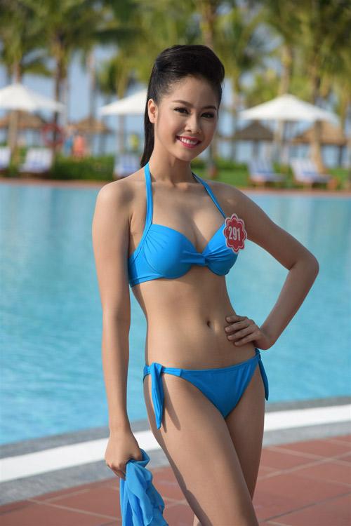 Bikini mát mắt của thí sinh hoa hậu Việt Nam-12