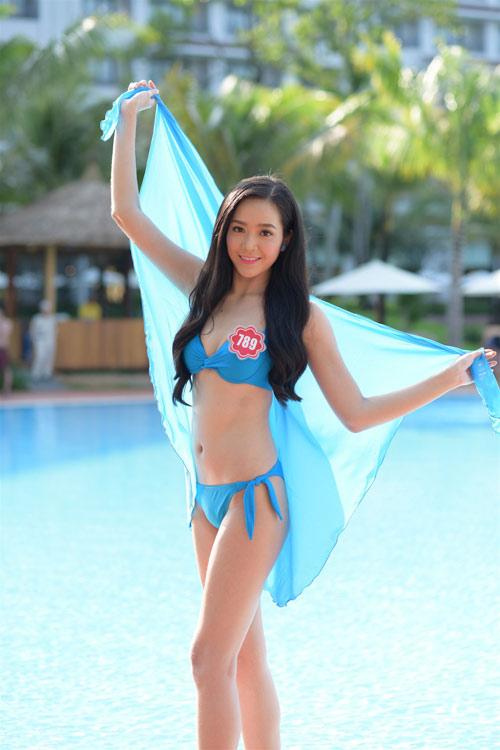 Bikini mát mắt của thí sinh hoa hậu Việt Nam-9
