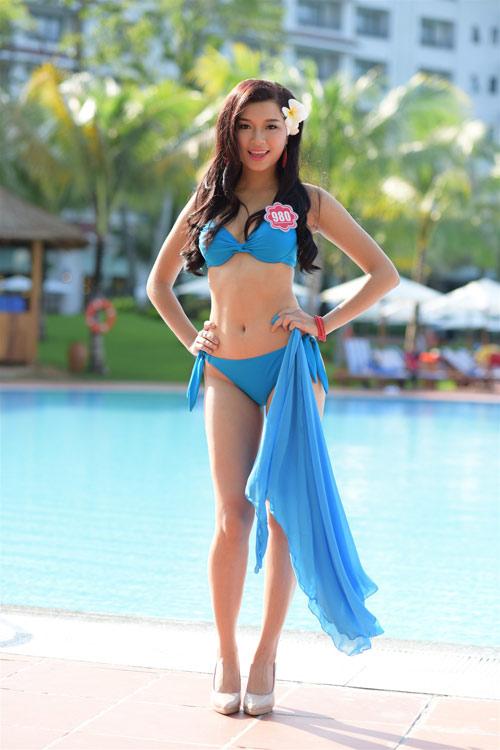 Bikini mát mắt của thí sinh hoa hậu Việt Nam-8