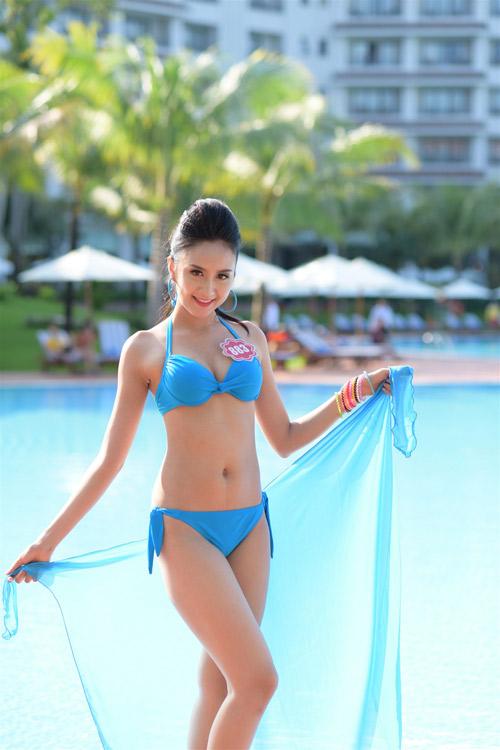 Bikini mát mắt của thí sinh hoa hậu Việt Nam-6