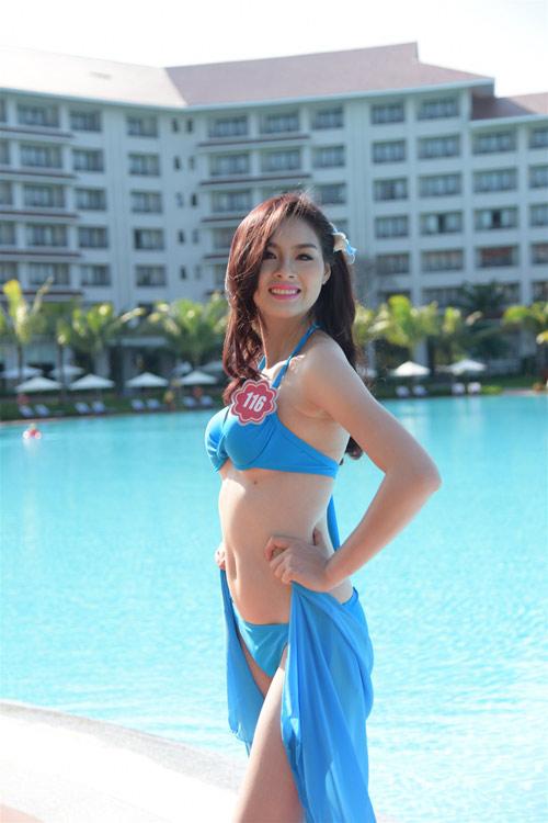 Bikini mát mắt của thí sinh hoa hậu Việt Nam-3