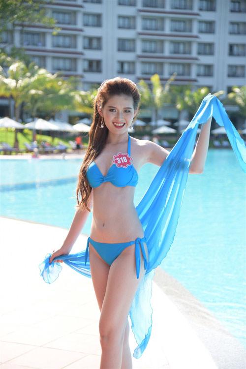 Bikini mát mắt của thí sinh hoa hậu Việt Nam-2