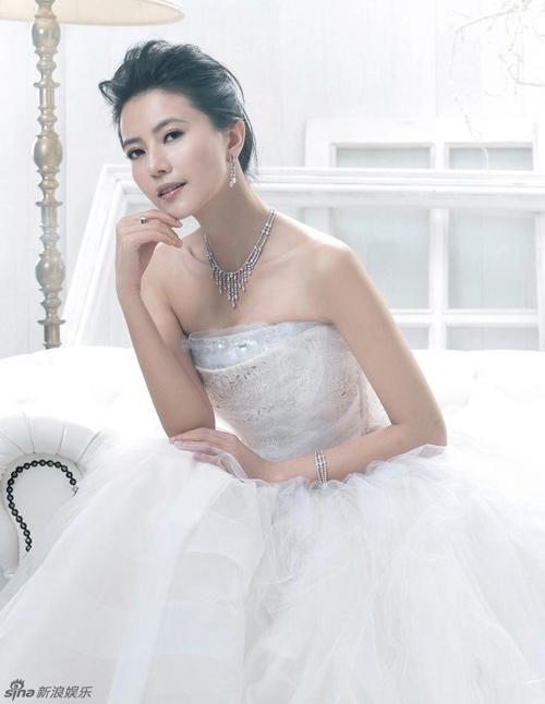 Những lần làm cô dâu của Cao Viên Viên trước khi cưới-2