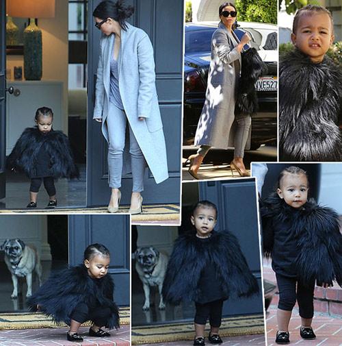 """Con gái Kim Kardashian như """"nấm lùn di động""""-10"""