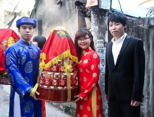 dam hoi thu vi cua co gai viet lay chong han - 5
