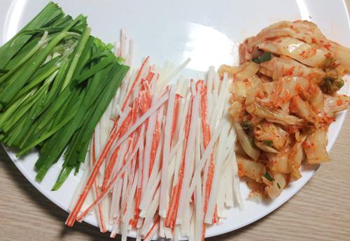 banh xeo kim chi, thanh cua la mieng - 2