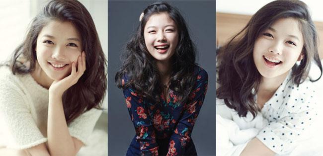 """Sinh năm 1999 và đến với điện ảnh từ năm 2004, Kim Yoo Jung để lại dấu ấn sâu đậm trong lòng khán giả với nét đẹp thơ ngây và quyến rũ đến tuyệt vời. Những kiểu tóc đẹp mê hồn mỗi khi xuất hiện khiến trái tim khán giả tan chảy, các bạn trẻ có thể """"bỏ túi"""" những mẫu tóc đẹp này."""