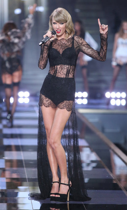 taylor swift - thien than thu 9 cua victoria's secret show - 6