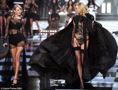 taylor swift - thien than thu 9 cua victoria's secret show - 2