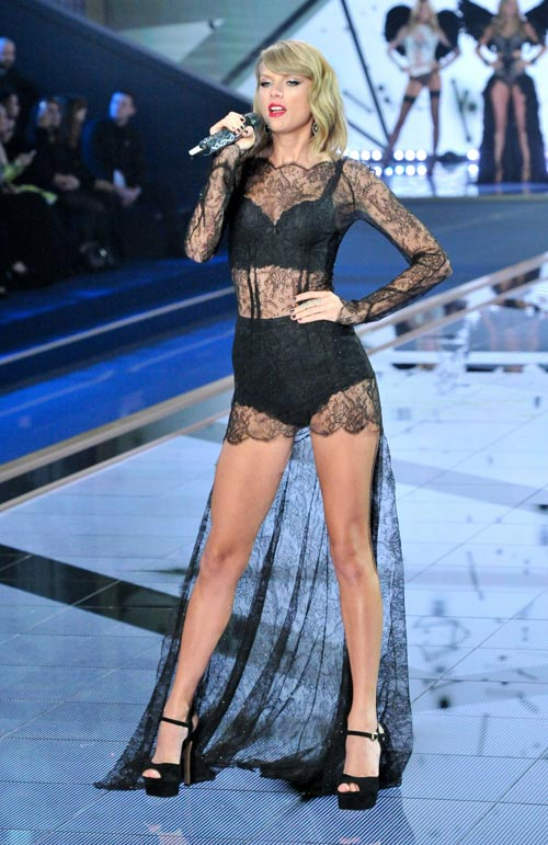 taylor swift - thien than thu 9 cua victoria's secret show - 3