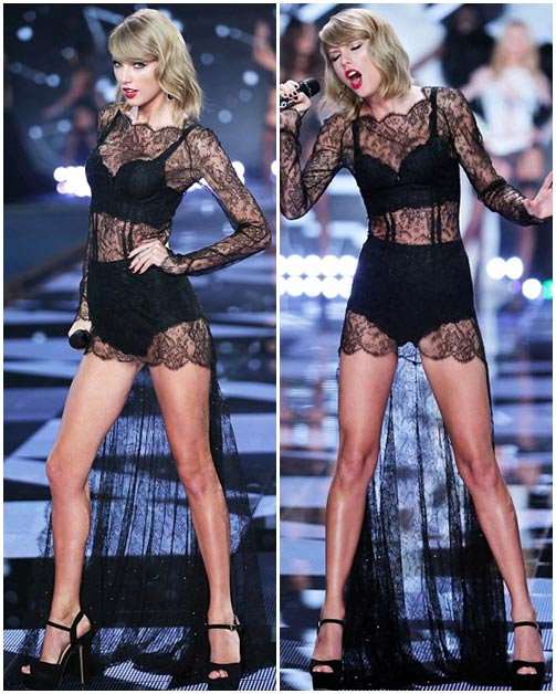 taylor swift - thien than thu 9 cua victoria's secret show - 4