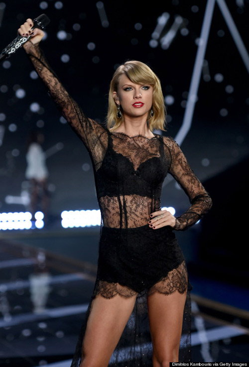 taylor swift - thien than thu 9 cua victoria's secret show - 5
