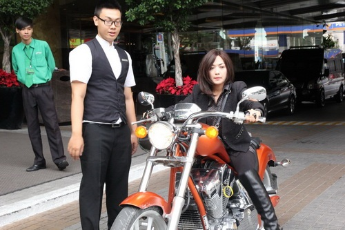 """tinna tinh cuc """"chat"""", chay xe mo to 600 trieu di su kien - 3"""